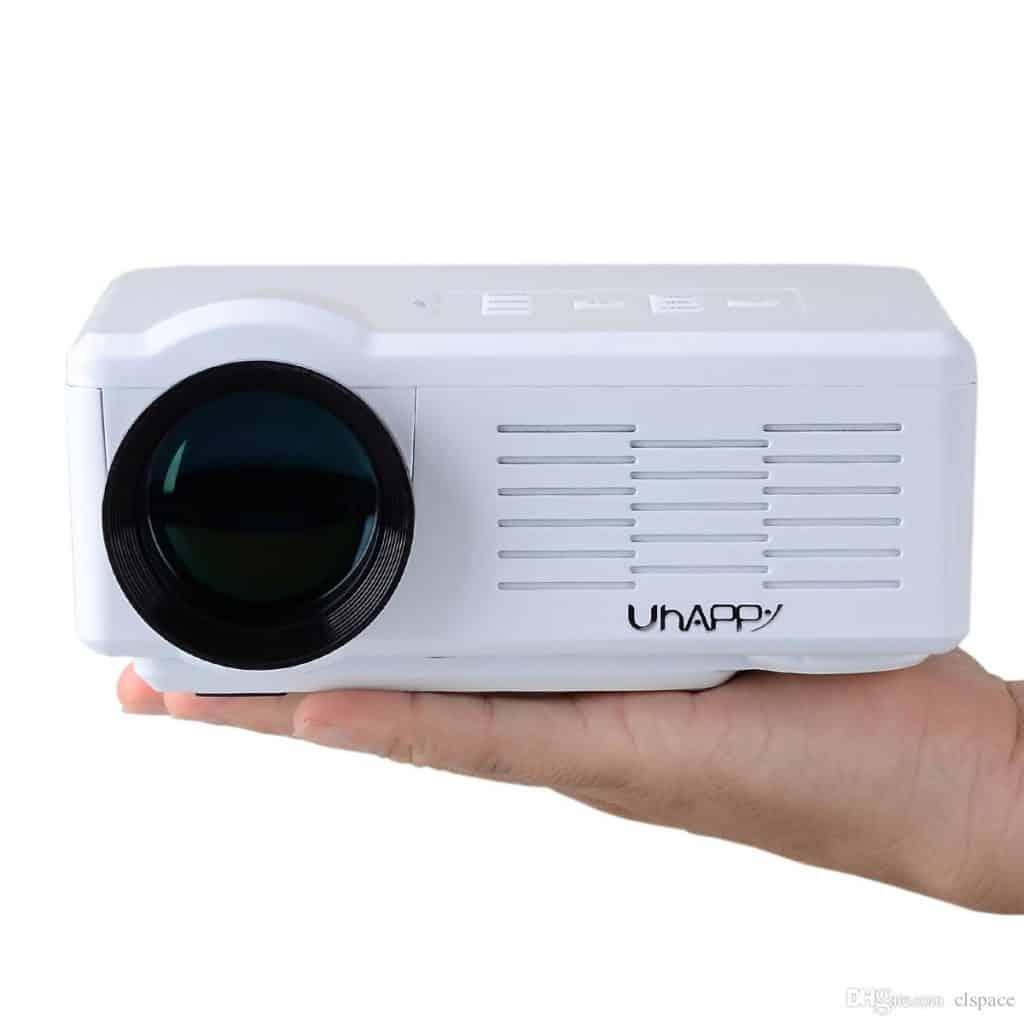 Uhappy Mini Portable Projector U35