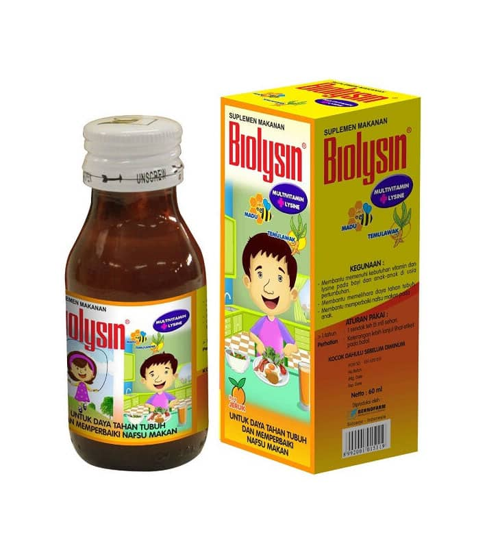 Biolysin Syrup