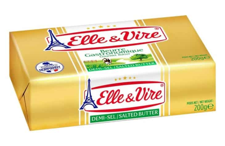 Elle and Vire Unsalted Butter