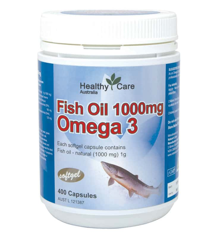 Healthy Care Fish Oil 1000mg Omega 3