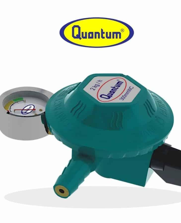 Regulator Gas Quantum