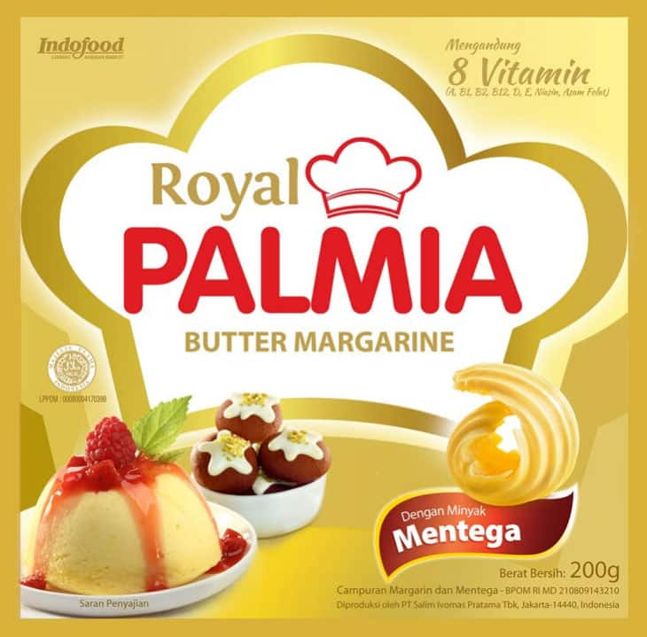 Royal Palmia Butter Margarine