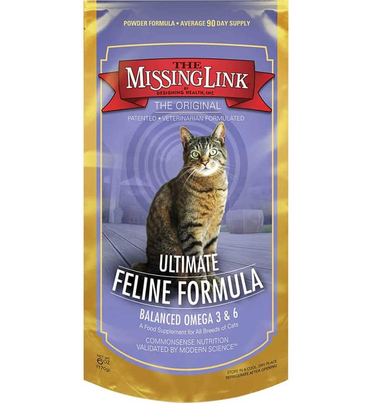 The Missing Link Vitamin Kucing