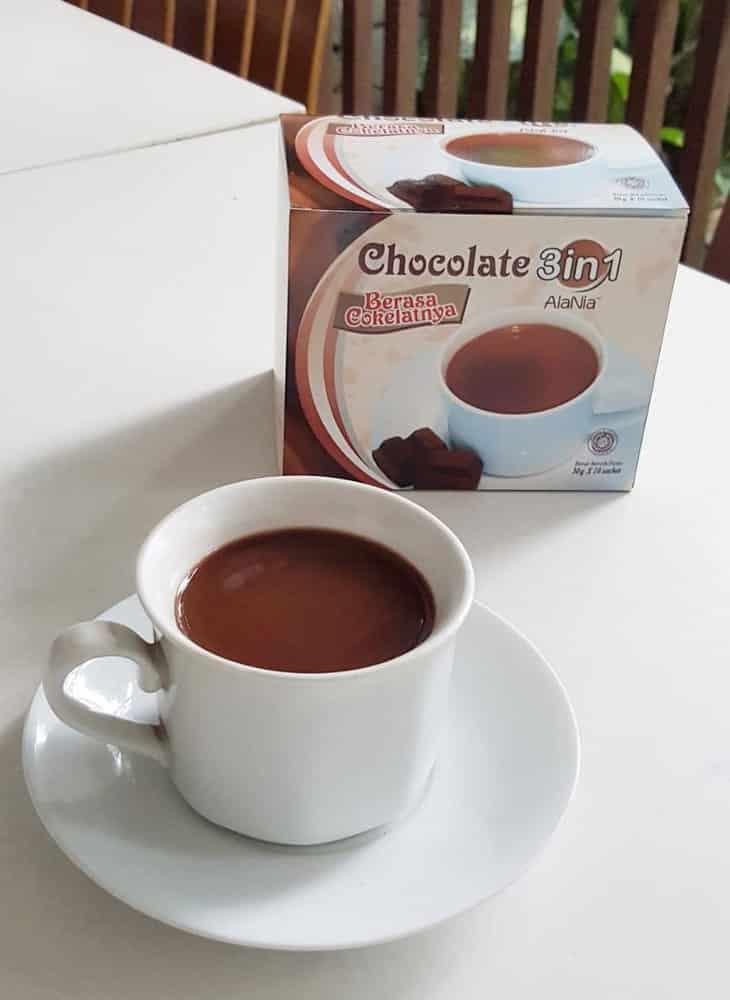 Alania Coklat Bubuk
