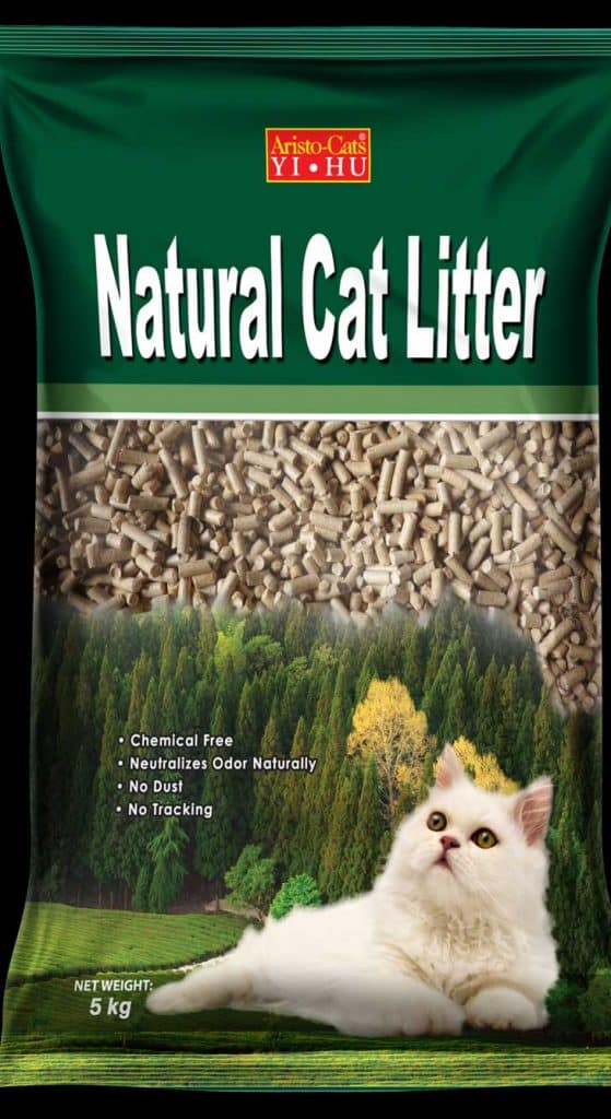 Aristo-Cats YI HU Natural Pine Cat Litter