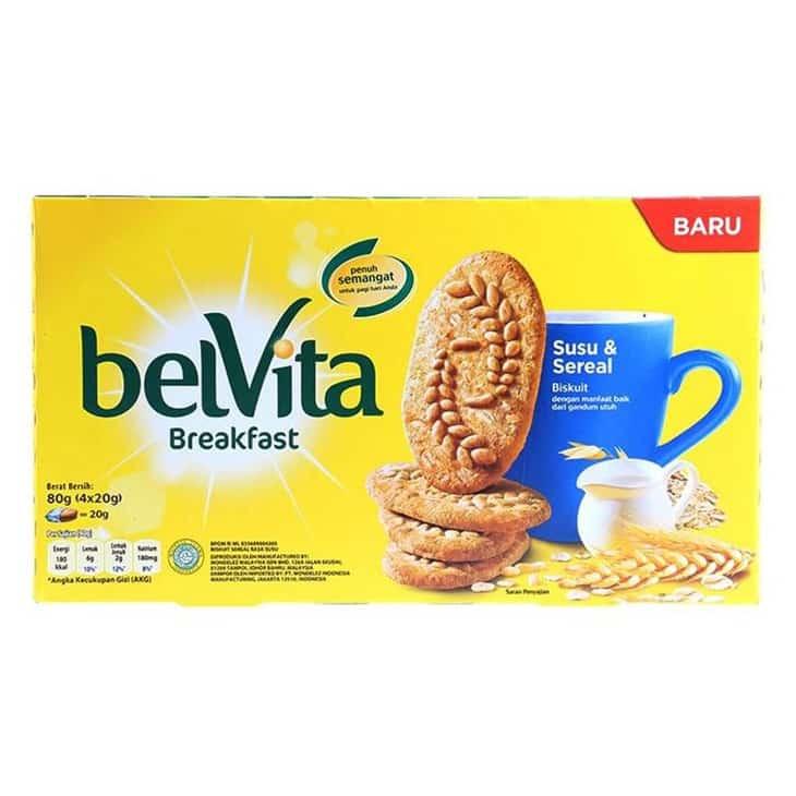 Biskuit Belvita Susu & Sereal