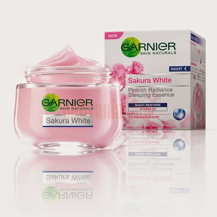 Garnier Sakura White Pinkish Radiance Sleeping Essence Night