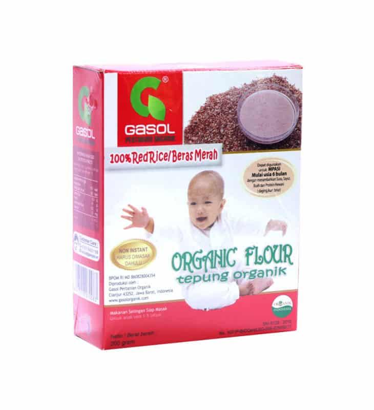 Gasol Premium Organic Flour