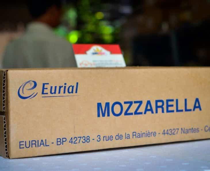 Keju Mozarella Eurial