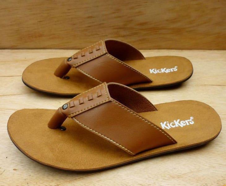 Kickers Sandal Jepit Kulit