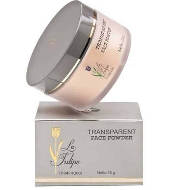La Tulipe Transparent Face Powder