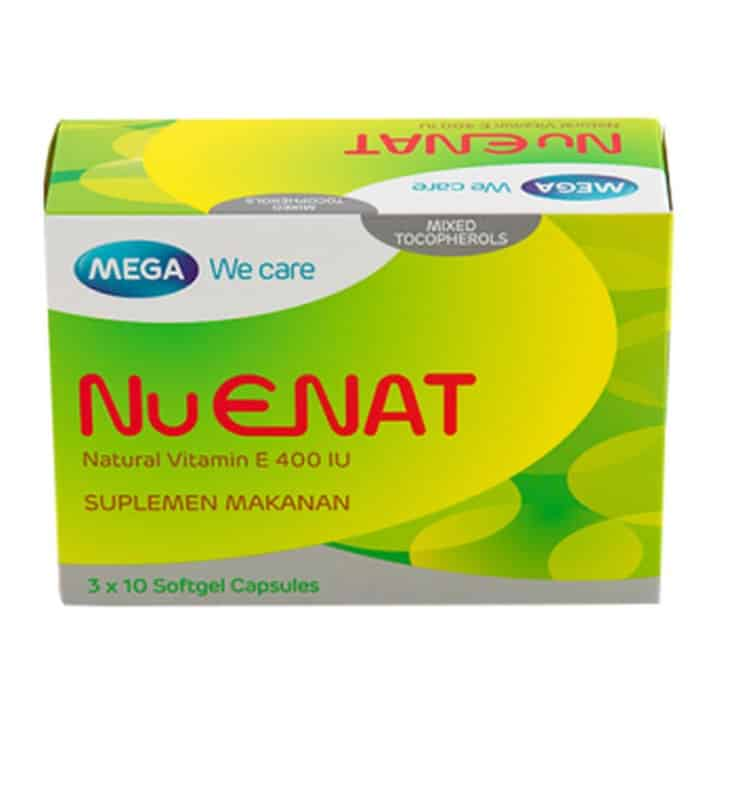 Mega Nu Enat Natural Vitamin E