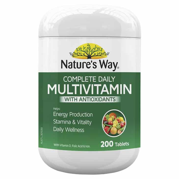 Nature's Way Complete Daily Multivitamin with Spirulina