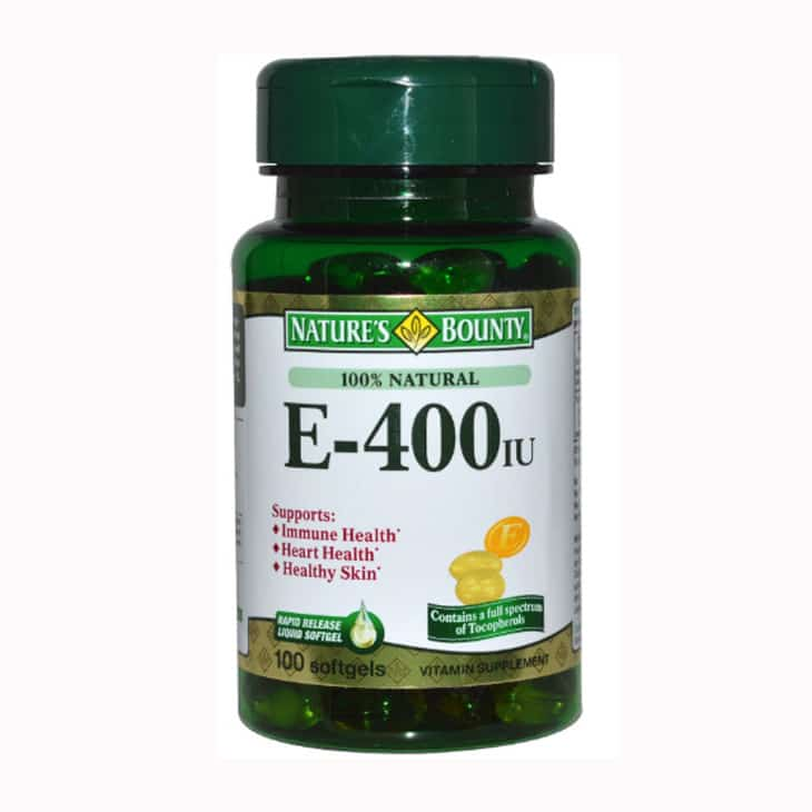 Nature's Bounty E 400 IU Water Soluble