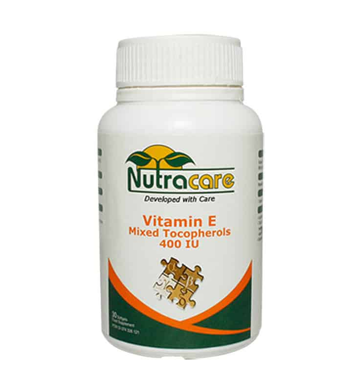 Nutracare Vit E Mix Tocopherols 400