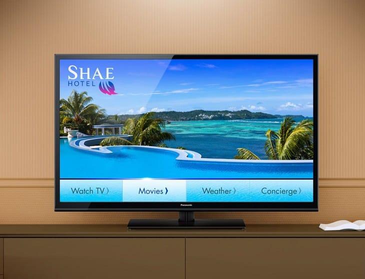 Panasonic 720p Hospitality LED HDTV