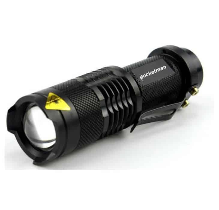 Police Pocketman LED Flashlight