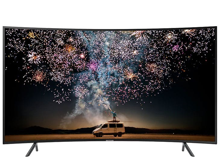 "Samsung 4K UDH 7 Series Smart 55"" LED TV"