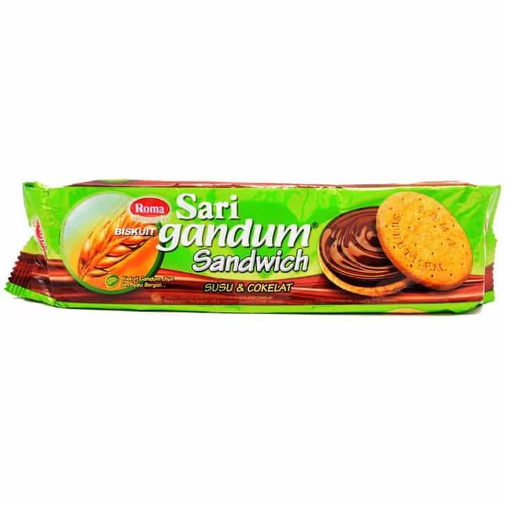 Sari Gandum Sandwich Biskuit