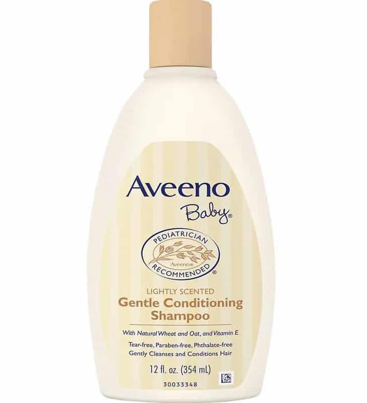Shampoo Bayi Aveeno Baby Gentle Conditioning Shampoo