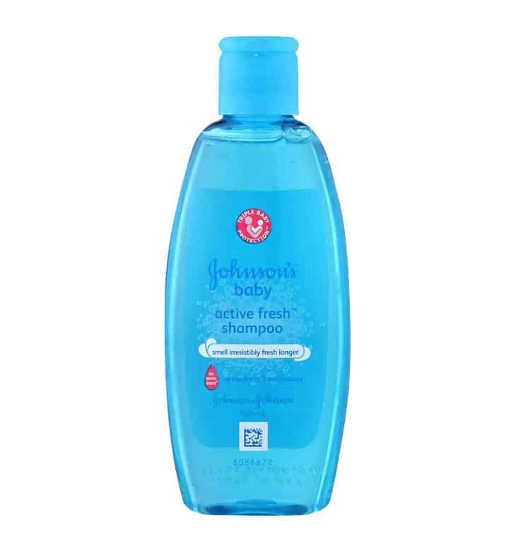 Shampoo Bayi Johnson's Baby Active Fresh Shampoo