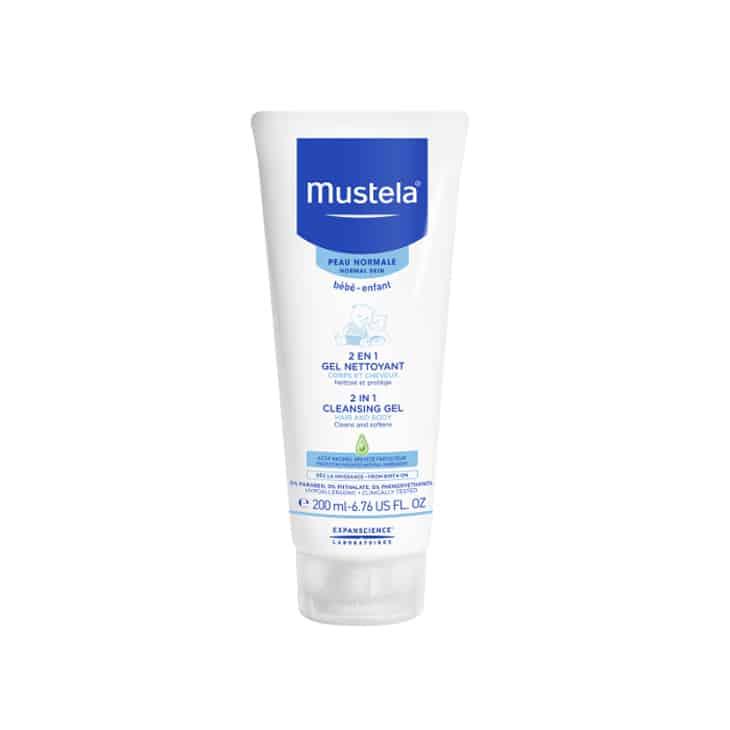 Shampoo Bayi Mustela Gentle