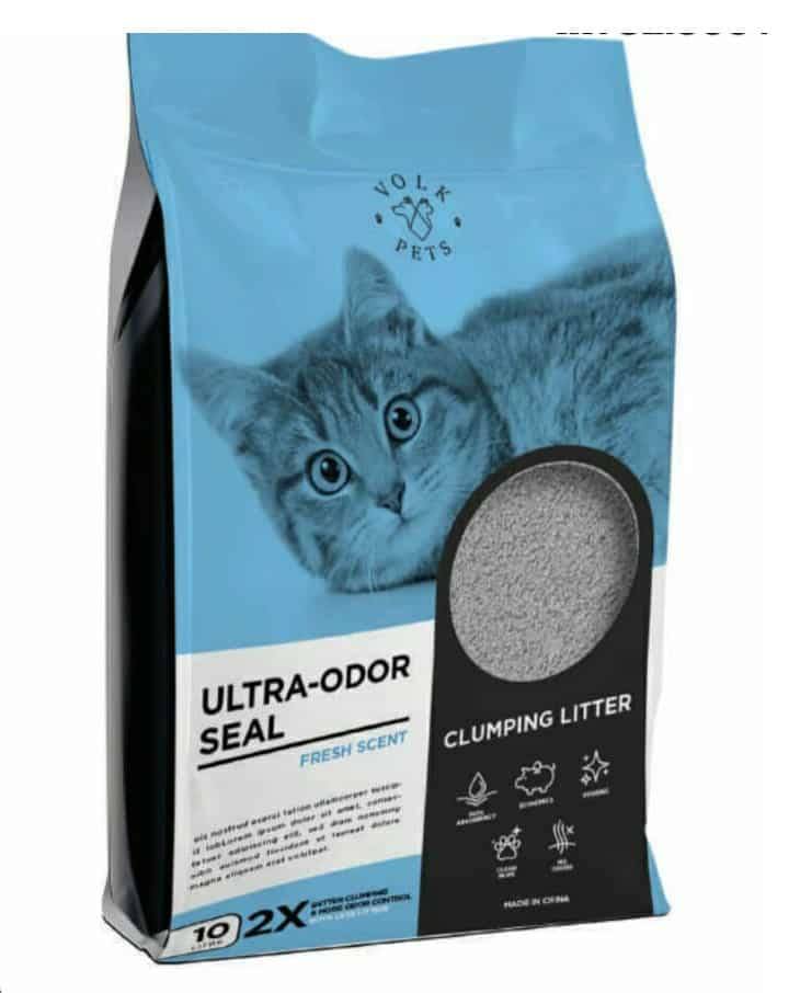 Volk Pets Ultra-Odor Seal Clumping Litter