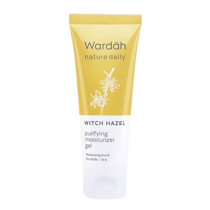 Wardah Purifying Moisturizer gel witch Hazel