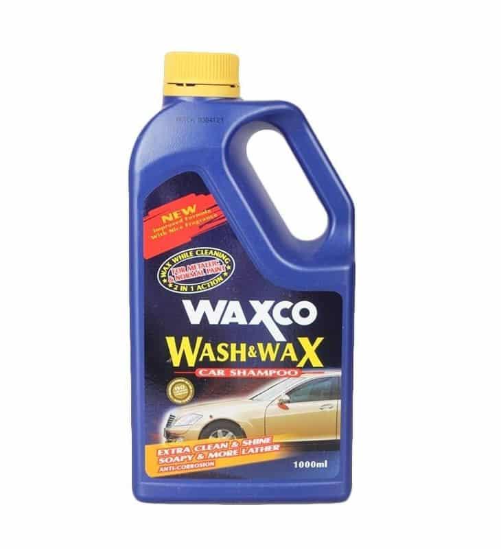 Waxco Wash and Wax Car Shampoo