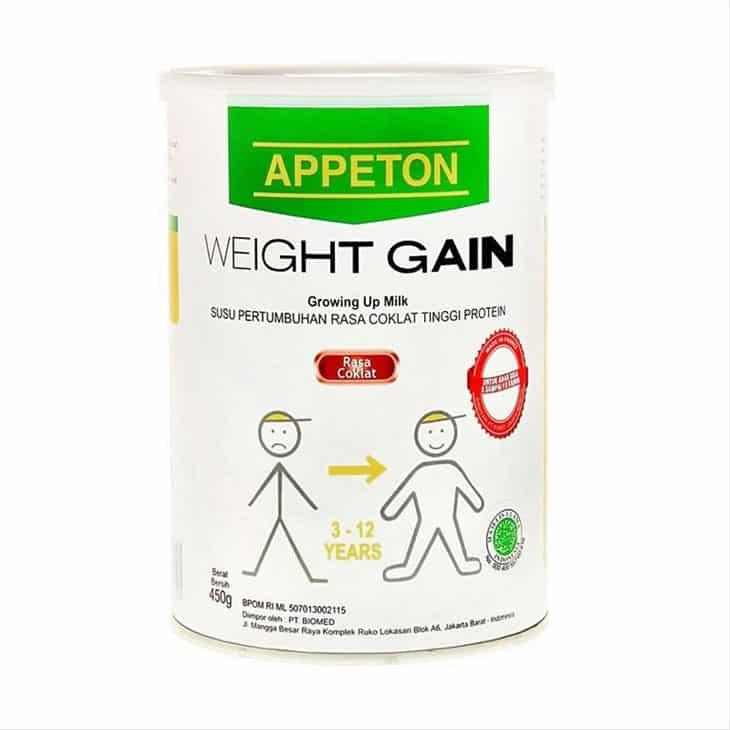 Susu-Penggemuk-Penambah-Berat-Badan-Anak-Appeton-Weight-Gain-Child