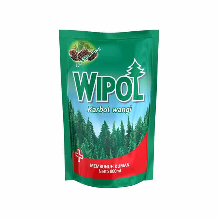 Karbol Wangi Wipol Classic Pine 5 In 1