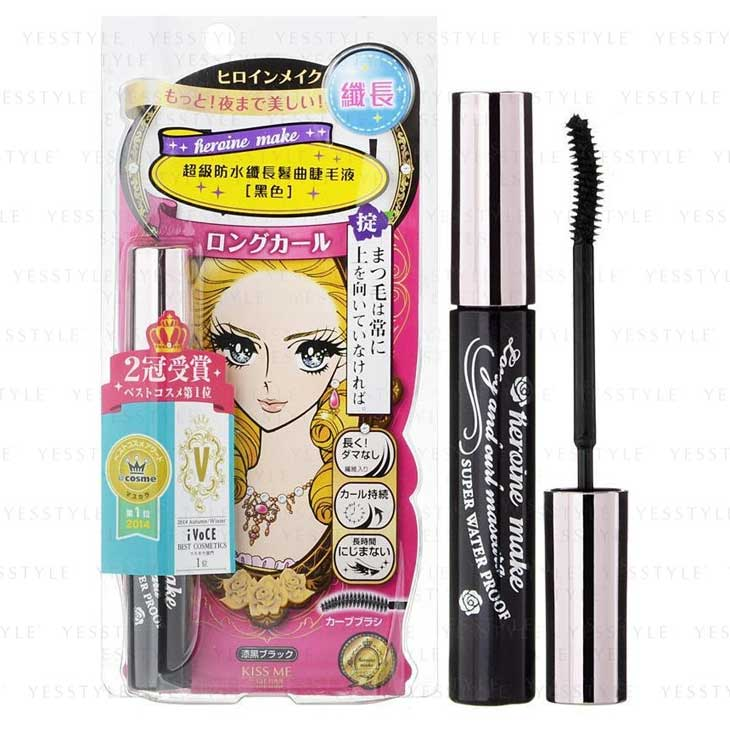 Kiss Me – Japan Heroine Make Long and Curl Mascara Super Waterproof