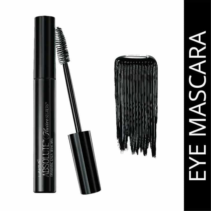 Lakme Absolute Flutter Secrets Dramatic Eyes Mascara