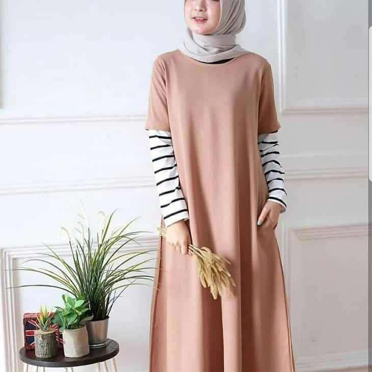 Baju-Muslim-Wanita-Monel