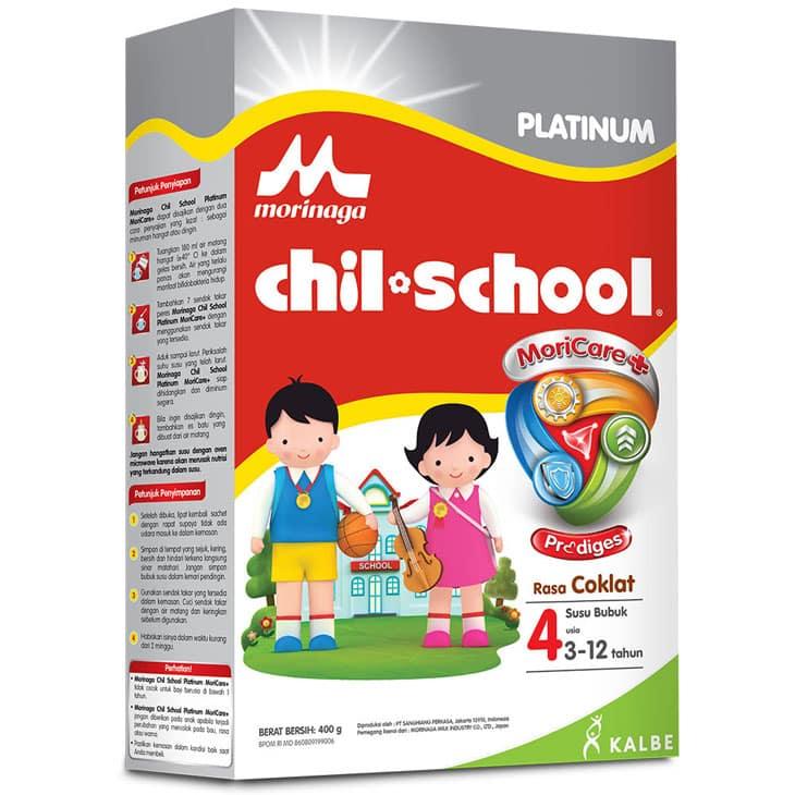 Susu-Penggemuk-Penambah-Berat-Badan-Anak-Morinaga-Chil-School-Platinum