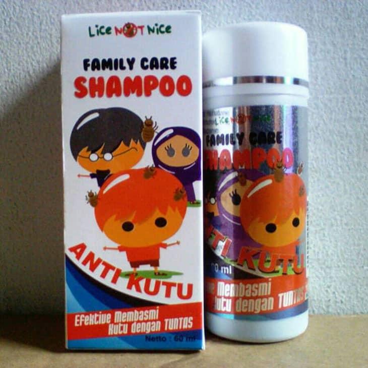 Shampoo Anti Kutu Lice Not Nice Family Care