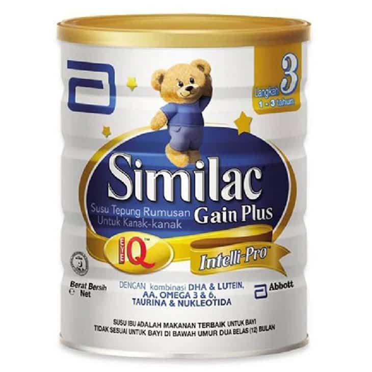 Susu-Penggemuk-Penambah-Berat-Badan-Anak-Similac-Gain-Plus