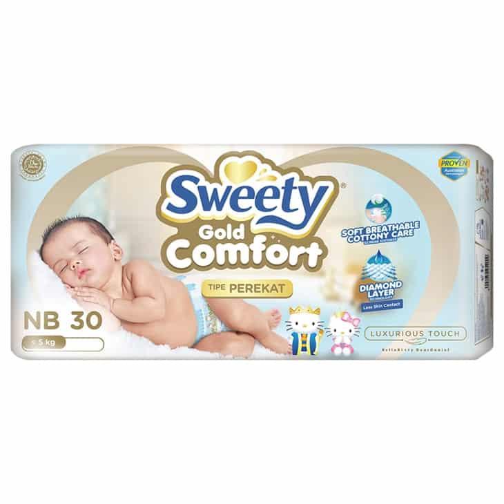 Popok-Bayi-Sweety-Comfort-Gold