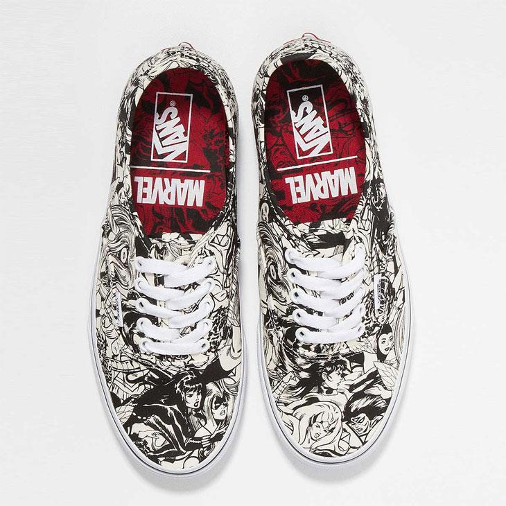 Sepatu-Pria-Vans-X-Marvel