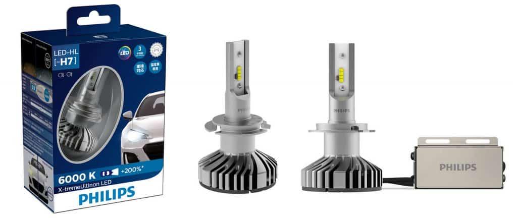 Lampu-Led-Mobil-Philips-LED-Turbo-H7