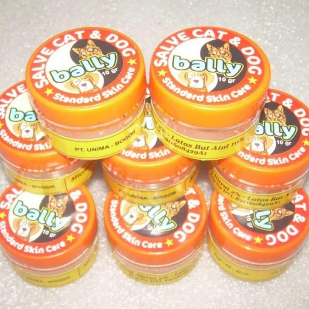 obat-jamur-kucing-Bally-Salve-Cat-And-Dog